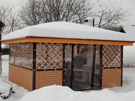 Морозоустойчивые мягкие окна