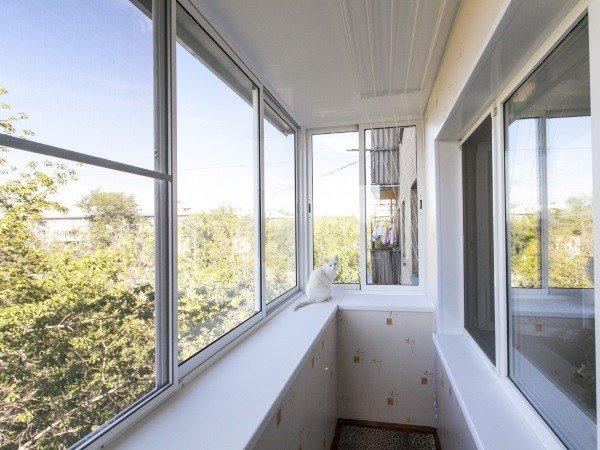 Пакет «Эконом» отделка балкона
