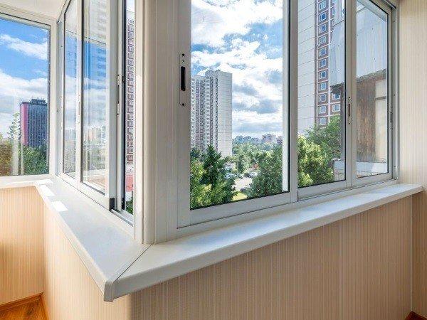 Стоимость установки алюминиевых окон Provedal