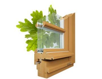 Стоимость установки деревянных окон из дуба