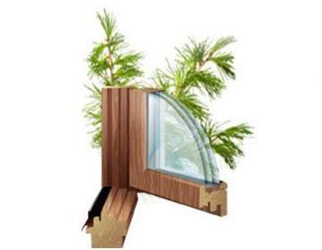 Стоимость установки деревянных окон из лиственницы