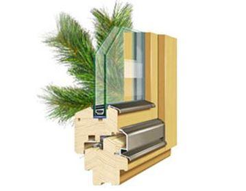 Стоимость установки деревянных окон из сосны