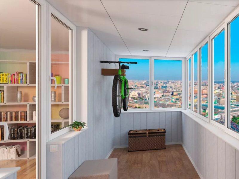 Пакет «Стандарт» отделка балкона