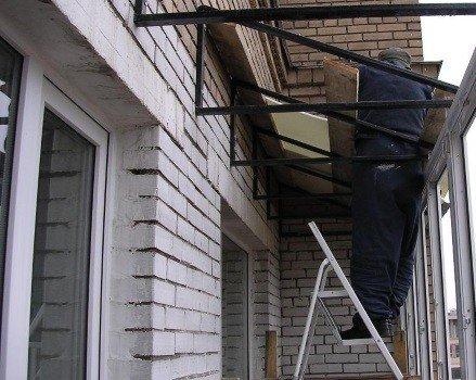 Балкон под ключ в рассрочку