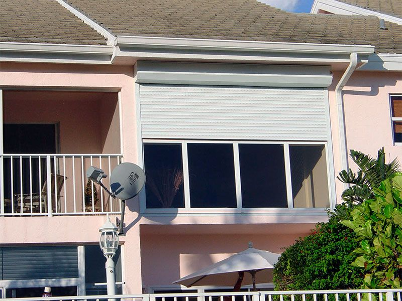 Рольставни для балкона и лоджии