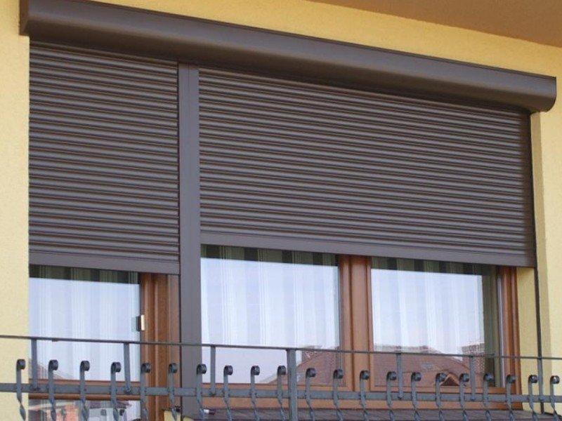 рольставни на окна балкона и лоджии