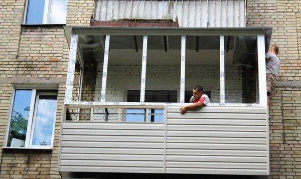 Рольставни на балконе