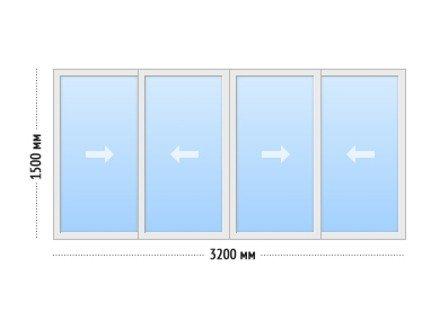 Лоджия отделка под ключ - цена Лоджия 9Ш 3-х метровая