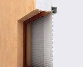 Роллеты на окна установка внутри