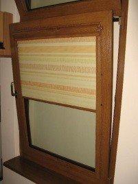 Рольшторы на деревянное окно