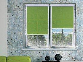 Рольшторы на окна цветное полотно