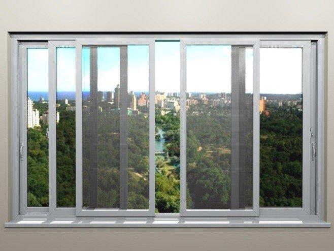 Сетка на окна Антикошка на раздвижные окна