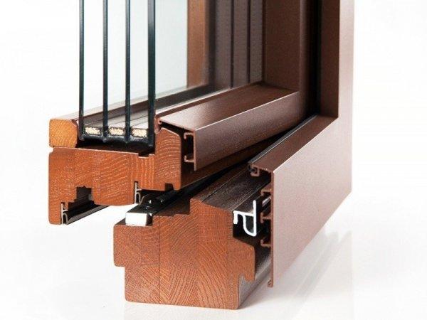 Строение деревянного окна