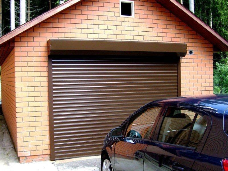 Автоматические рольставни для гаража