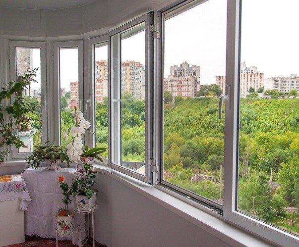 Остеклить балкон теплым алюминием