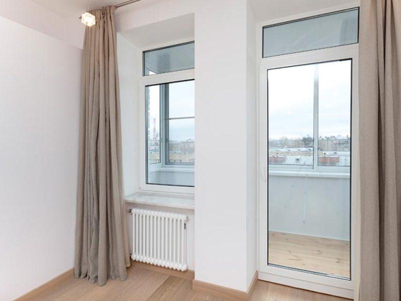 Дизайн балконных дверей