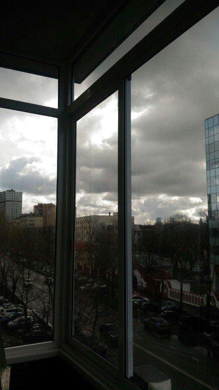 Остеклили балкон в Москве