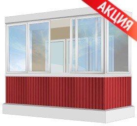 Остеклить балкон - сколько стоит