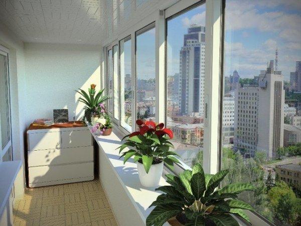 Пластиковый балкон