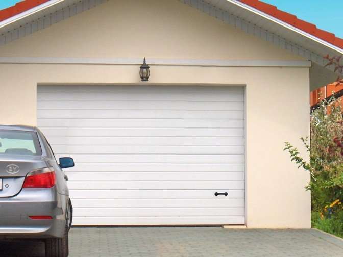 Секционные ворота для гаража по ГОСТ