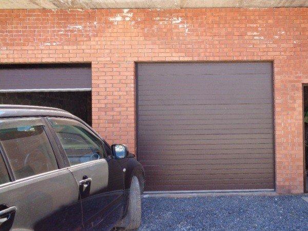 Секционные ворота гаражные купить