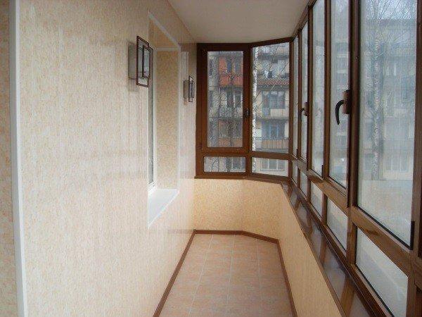 Цены на отделку балкона в Москве под ключ