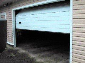 Ворота Алютех секционные для гаража