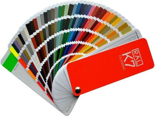 Цветовая палитра рал