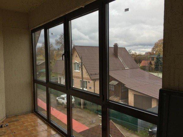 Алюминиевые теплые окна купить в коттедж