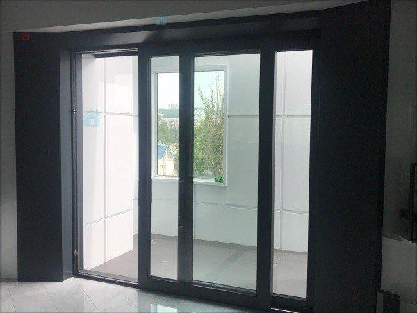 Алюминиевые раздвижные двери под заказ