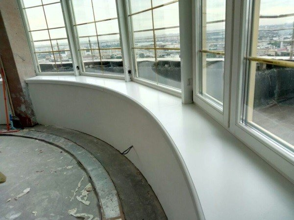 Эркерное окно вариант дизайна