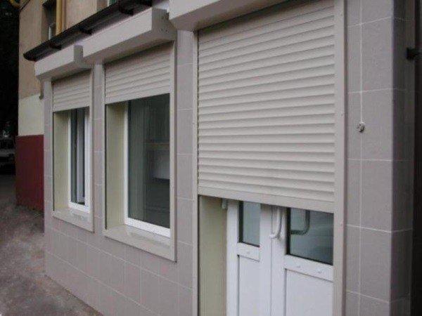 Недорогие рольставни на окна и двери