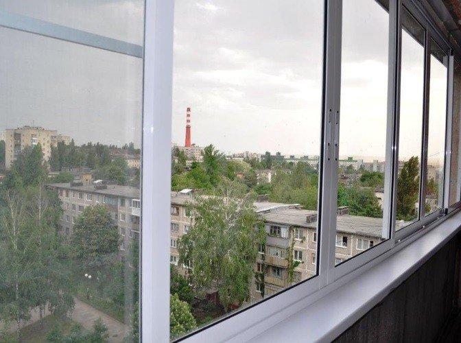 Остекление недорогое балкона Проведал