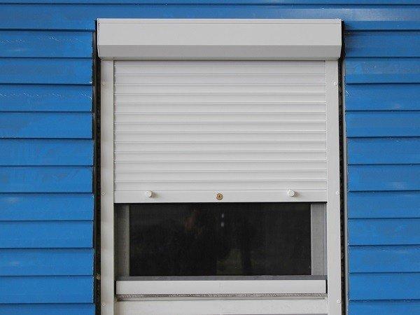 Стандартные наружные рольставни на окна