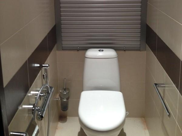 Рольставни сантехнические в шкаф в туалет