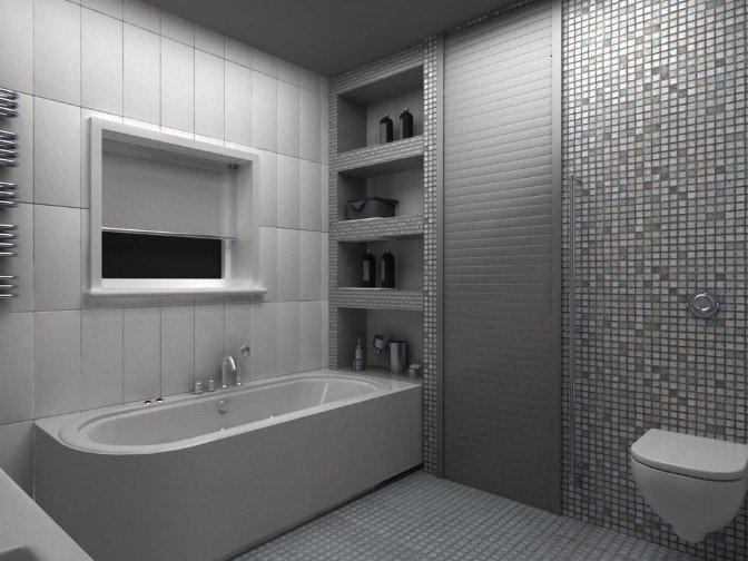 Рольставни сантехнические в туалет по ГОСТ