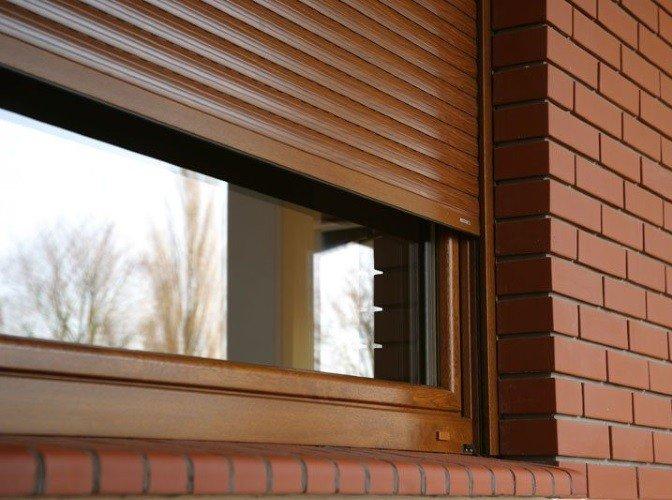 Рольставни наружные на окна по ГОСТ