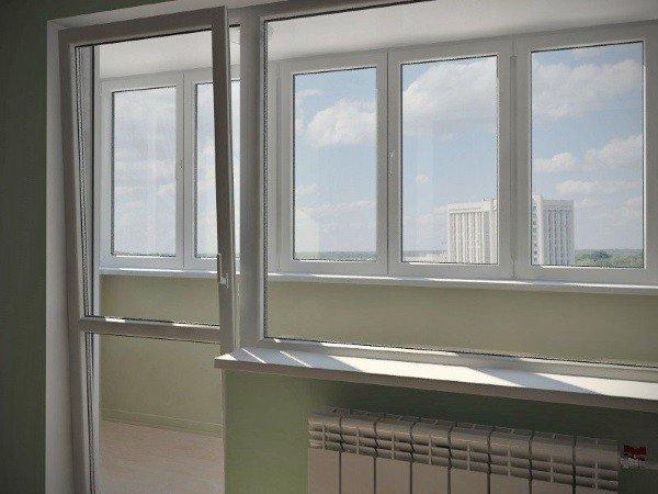 Бюджетные окна на лоджию
