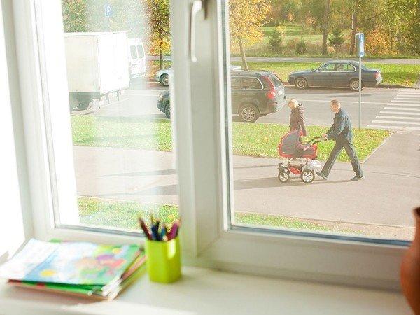 Купить окно в квартиру на 1 этаж