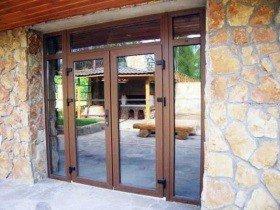 Ламинированные штульповые двери