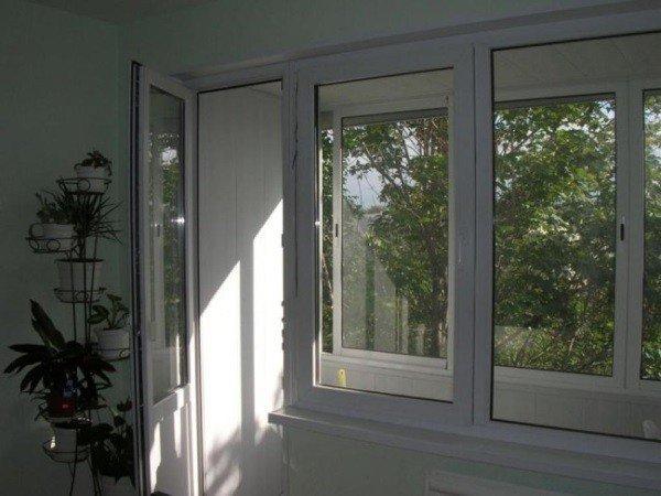 Недорогие окна их ПВХ