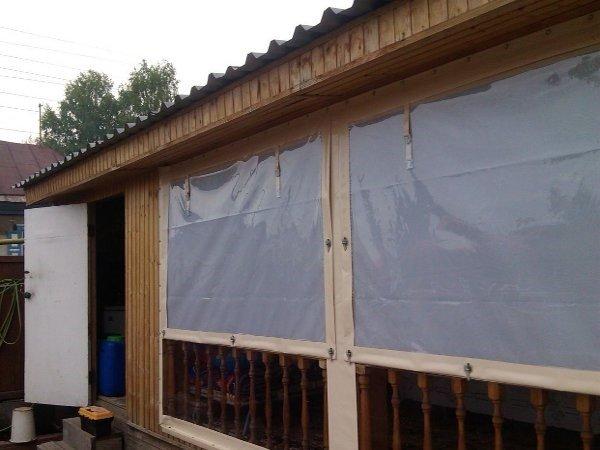 Непрозрачные шторы ПВХ