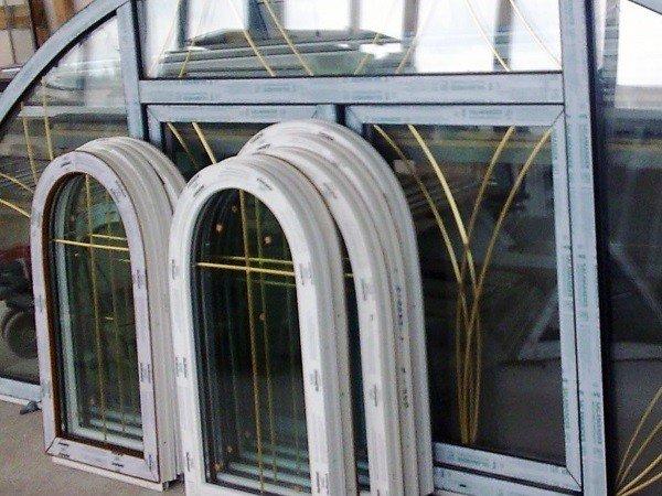Нестандартные пластиковые окна без установки