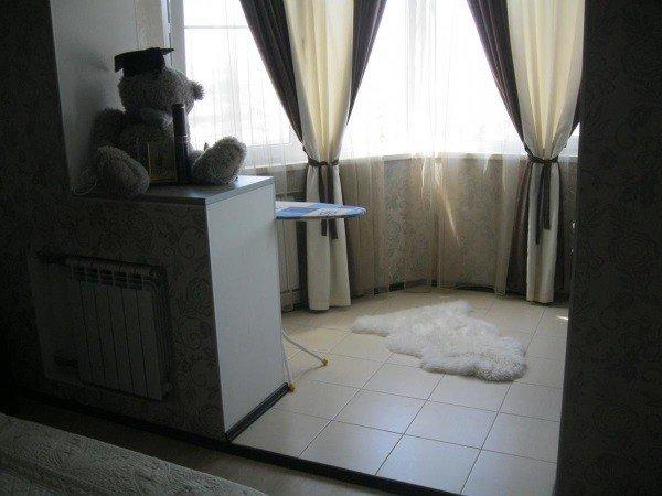 Объединение балкона с комнатой под ключ