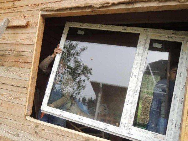Окна ПВХ без установки для дачи