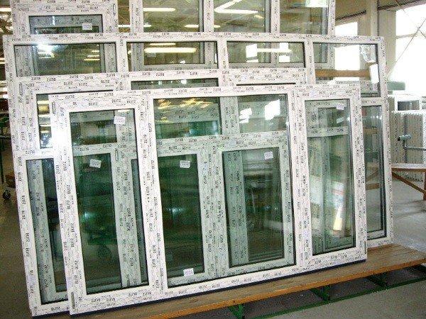 Окна ПВХ без установки под погрузку