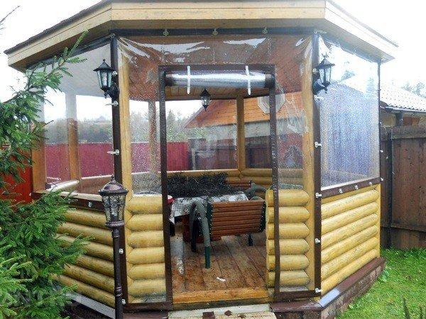 ПВХ шторы для террас и веранд от производителя
