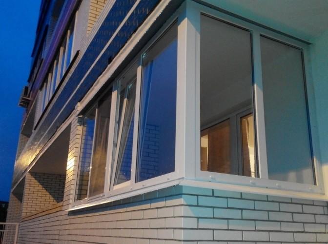 Пластиковое остекление балконов по ГОСТ