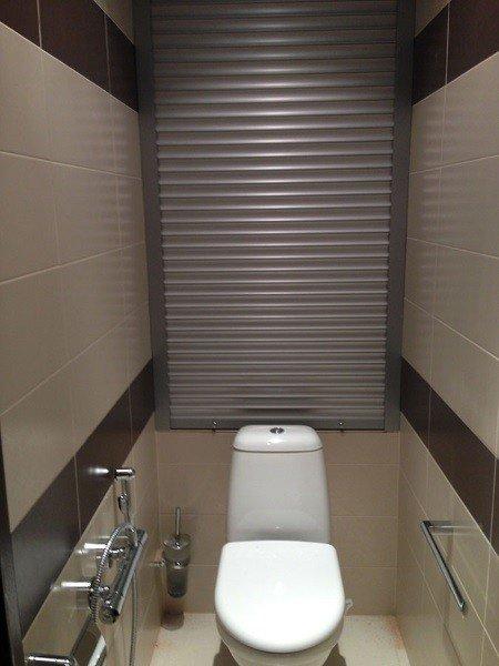 Ролл ставни для совмещенного и раздельного туалета