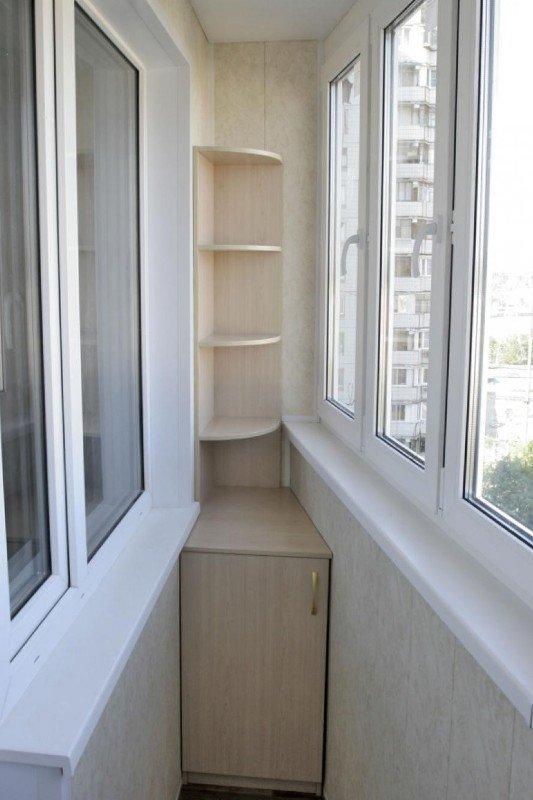 Балкон серии П лодочка шкаф и тумба